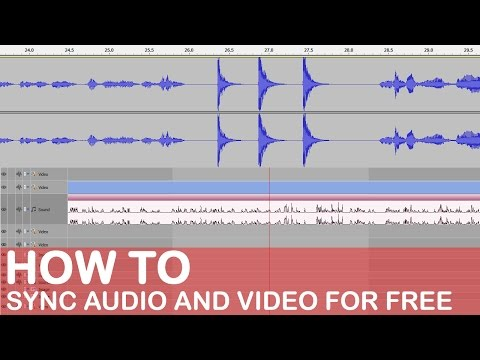 How To Sync Audio And Video Using VSDC Free Video Editor.