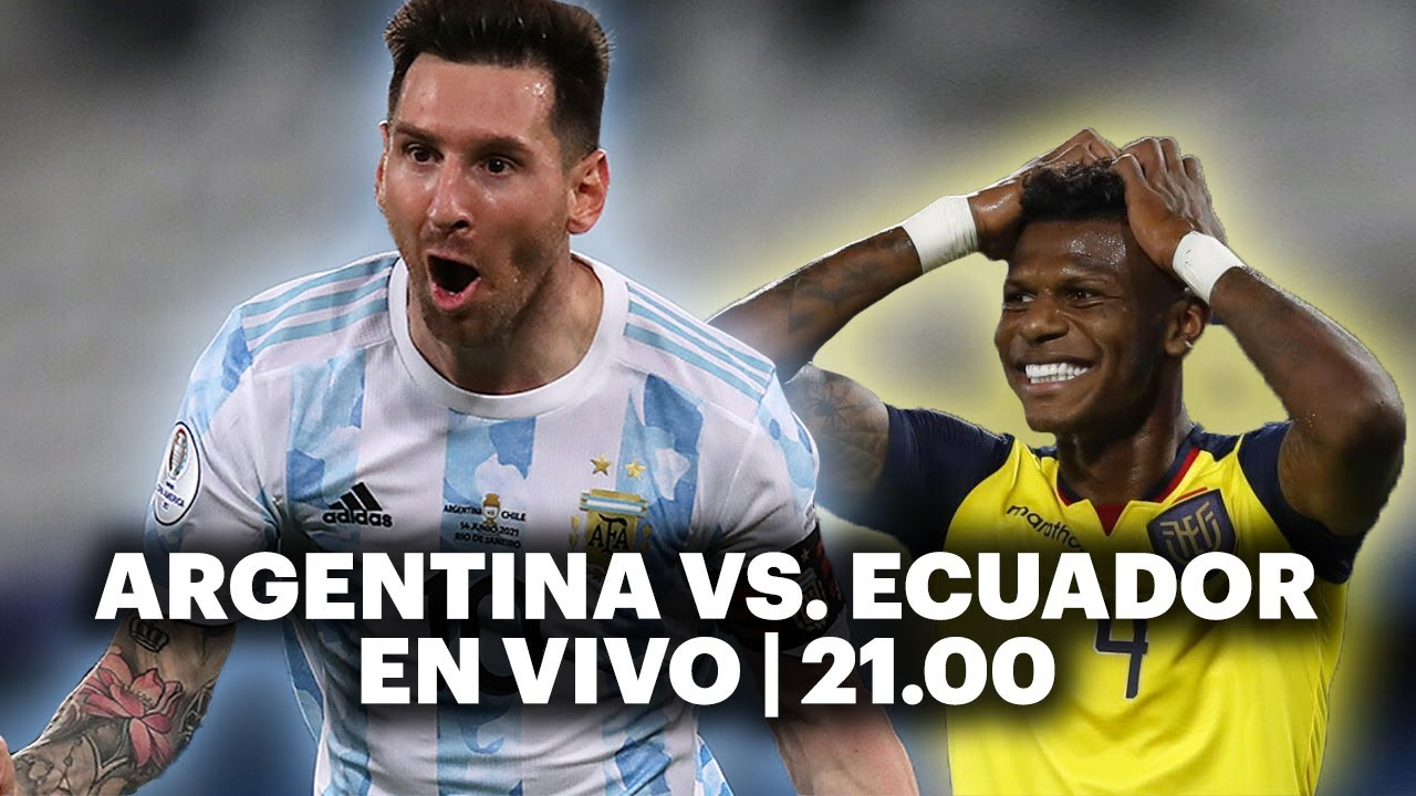 ARGENTINA VS. ECUADOR ⚽️ VIVILO EN TyC SPORTS | Copa América 2021