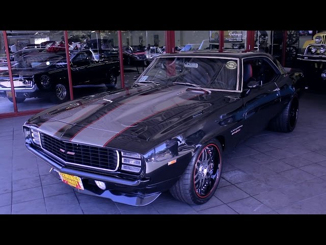 1969 Chevrolet Camaro Protouring LS3 for sale with test
