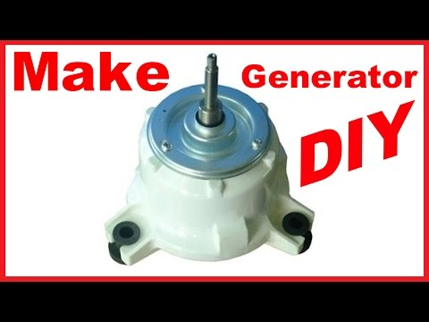 Convert Induction Motor Into A Generator Funnycat Tv