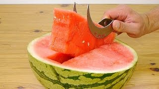 How To Cut Watermelon - Slicer Test and Review