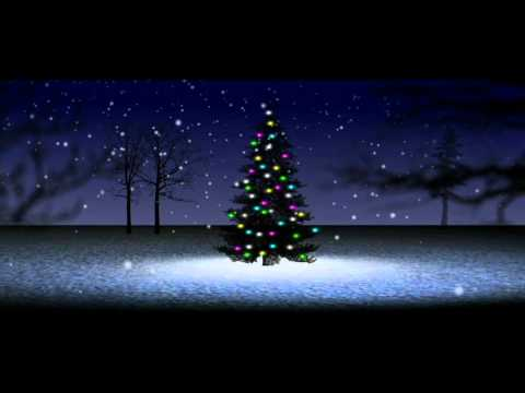 HD Christmas Tree snow falling loop.mov - YouTube