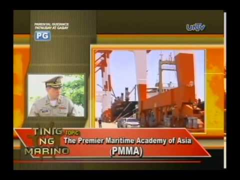 PMMA Philippine Merchant Marine Academy UNTV interviews RAdm Ritual PART 2