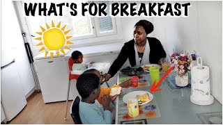 Kids love this breakfast 😋| Cook and Eat with Us