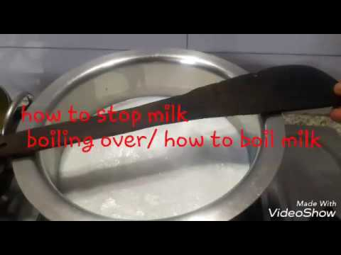 How to boil milk/how to prevent milk boiling over/ how to stop milk boiling over/cooking tips