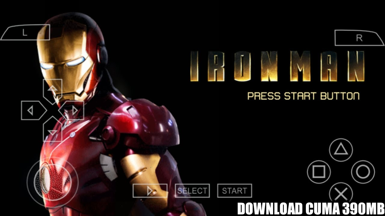 Cara Download Dan Install Game Iron Man PPSSPP Android