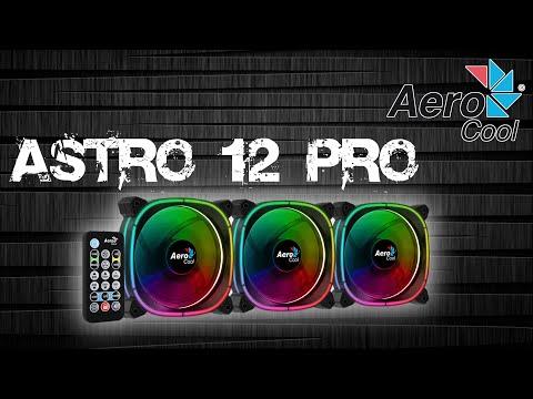 Космический комплект. Обзор Aerocool Astro 12 Pro (комплект вентиляторов).