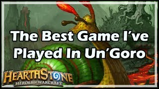 Hearthstone Un'Goro | The most amazing game I've played during the ...