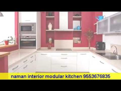 modular kitchen design simple and beautiful 9553676835 youtube. Black Bedroom Furniture Sets. Home Design Ideas