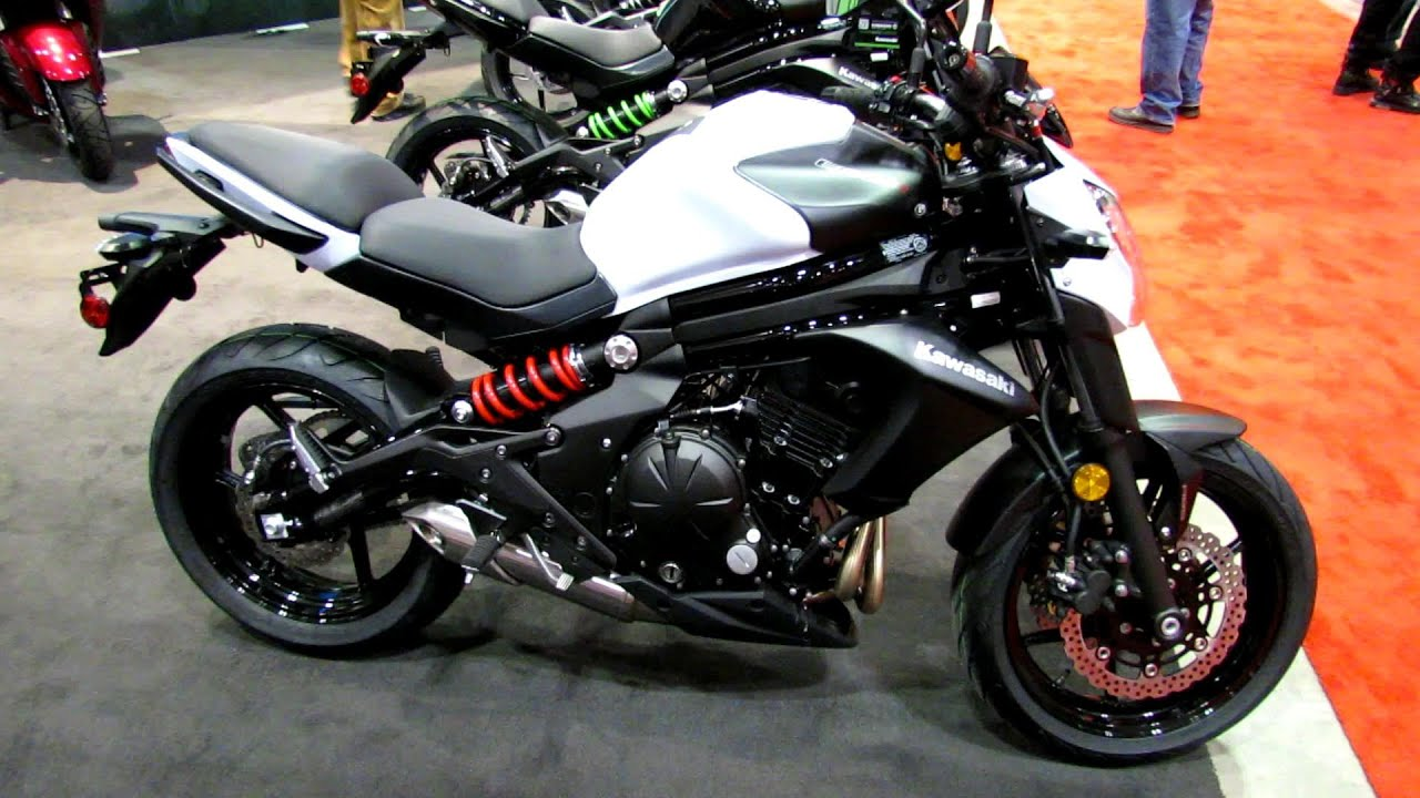 2014 kawasaki er 6n abs walkaround 2014 toronto motorcyle show youtube. Black Bedroom Furniture Sets. Home Design Ideas