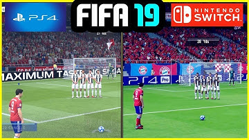 FIFA 19 - PS4 vs Nintendo Switch Gameplay & Graphics Comparison