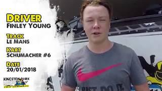 Driver Profile - Finley Young | Kingston Park Raceway Go Karting Brisbane Gold Coast