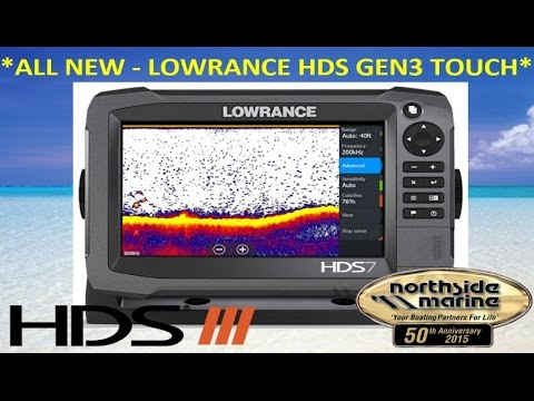 Lowrance HDS-7 Gen3 Touch Sounder/GPS Combo - Northside Marine Overview