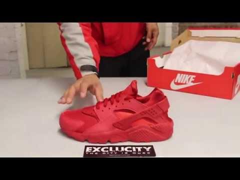 Nike Huarache - Varsity Red - Varsity Red - On-feet Video at ...