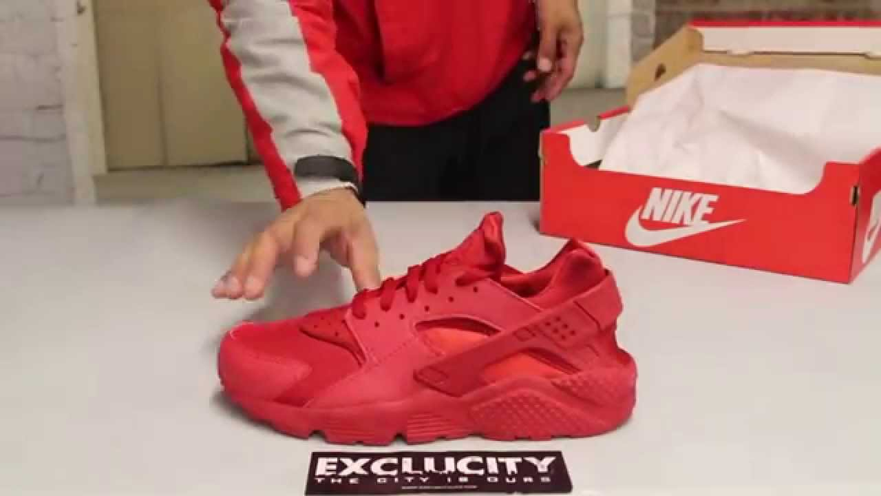 pretty nice 3d00f 0d317 Nike Huarache - Varsity Red - Varsity Red - Unboxing Video at Exclucity