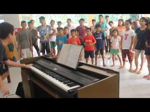 Cebu Music Learning Center-Lingap Children's Shelter Rhythmic Lessons