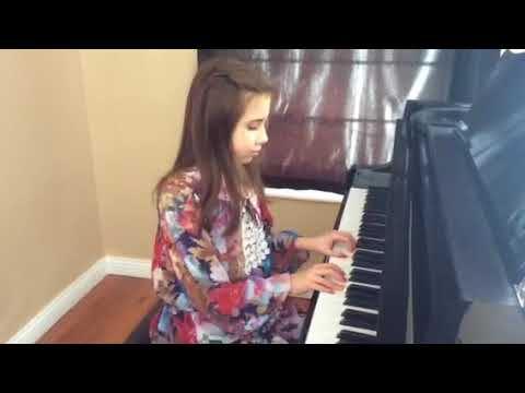 Piano Marvel Competition 2018 Emily Thiele playing  'Ode to Joy' by Beethoven