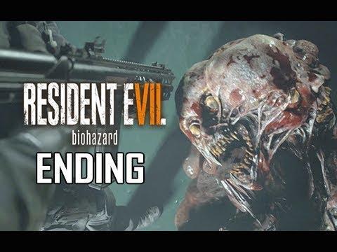 Resident Evil 7 Not A Hero Walkthrough Part 3 - ENDING + Final Boss (Let's Play Commentary)