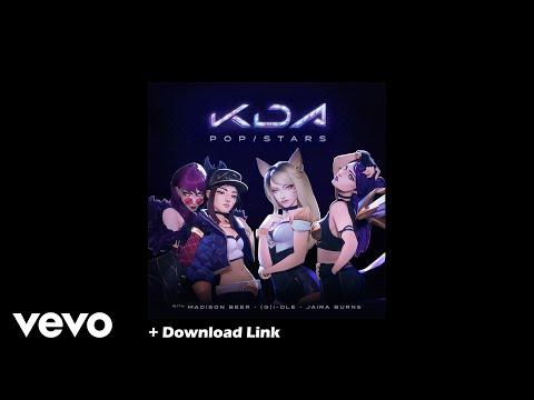 Free Download: K/DA - POP/STARS ft Madison Beer, (G)I-DLE, Jaira Burns League of Legends