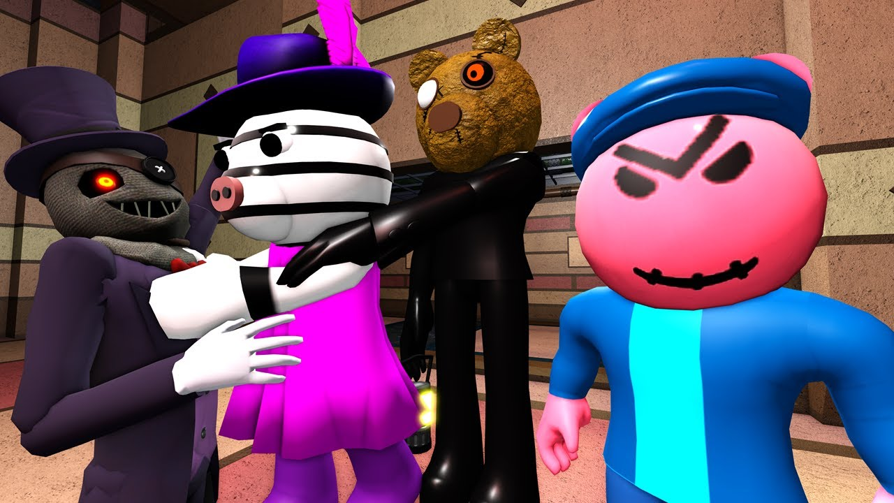 ROBLOX PIGGY but GEORGIE IS A STITCHFACE and ZIZZY KILLS TIO! Animating Your Comments