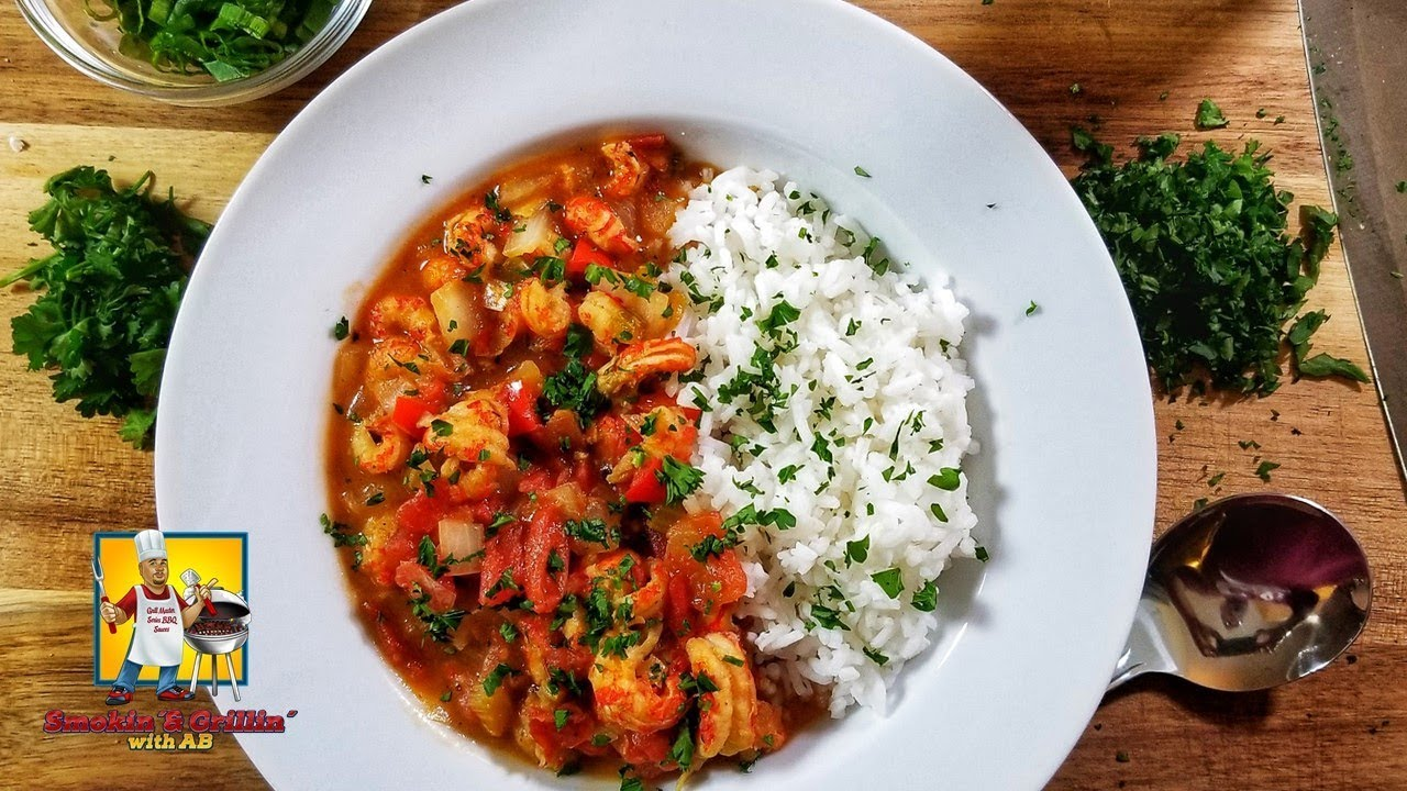 Etouffee Crawfish Etouffee Cajun Youtube