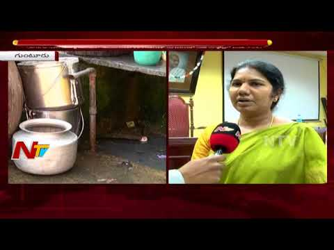 Municipal Commissioner Anuradha Face to Face Over Contamination of Drinking Water