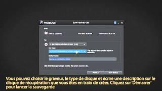 Cyberlink Power2Go 8 - Comment graver un disque de récupération de données
