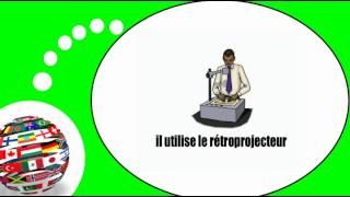 Французского видео урок = Сцены и ситуации в офисе № 1(PARRAINEZ-MOI SI VOUS APPRÉCIEZ MON TRAVAIL / http://www.imagiers.net/support-me/ Изучение французского языка с мотивированным, ..., 2013-10-11T06:25:04.000Z)
