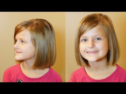How to Cut a Bob Haircut Tutorial for Girls Haircuts