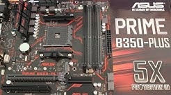 Asus Prime B350 Plus Motherboard Review - It's Only Okay