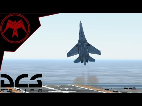 Su-27 Cobra Carrier Landings Hoggit Challenge