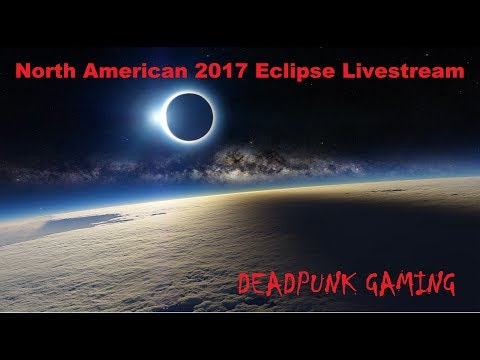 Solar Eclipse full Livestream ~ North American 2017 Solar Eclipse.  Road To 200 Subs