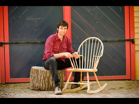 """Building a Traditional Windsor Rocking Chair"" DVD Trailer"