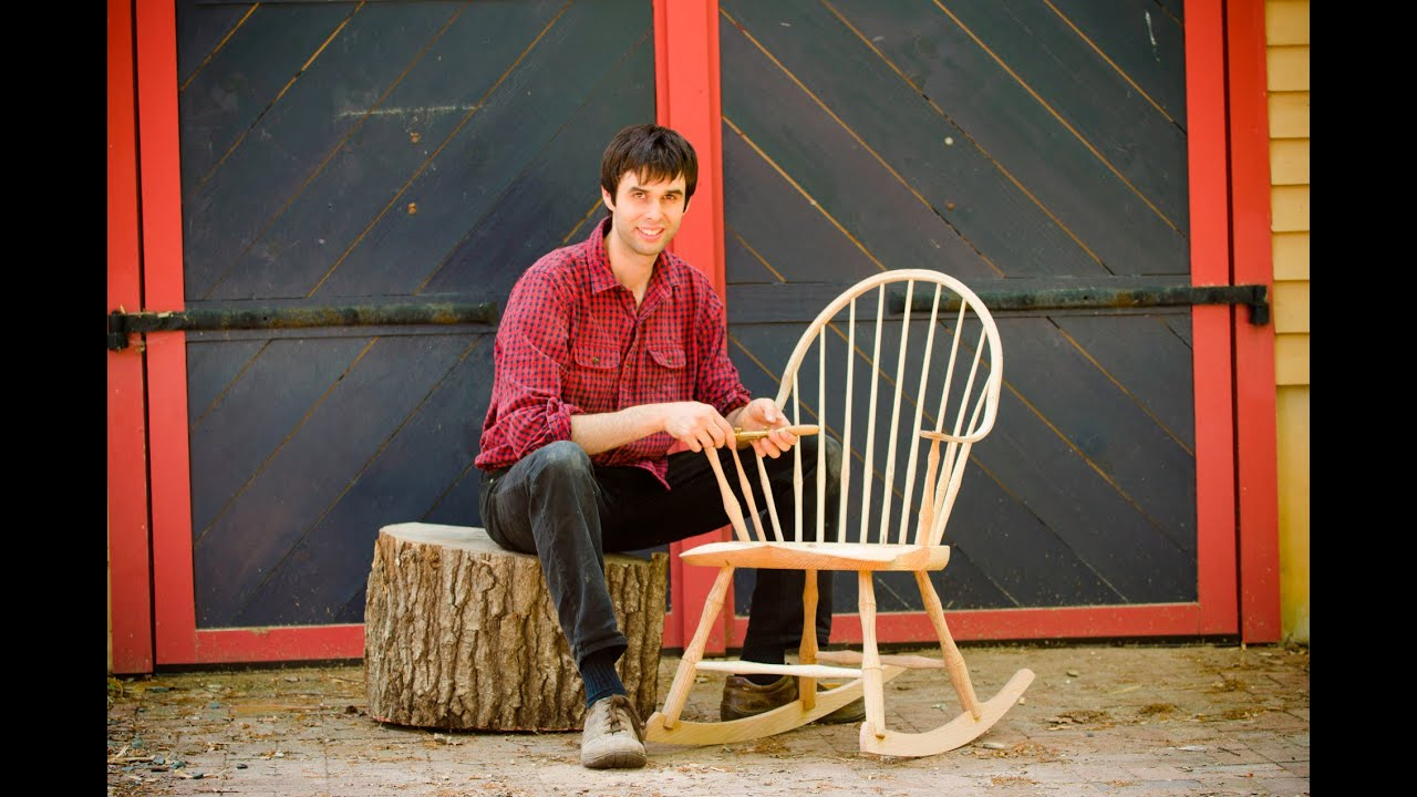 Building a Traditional Windsor Rocking Chair DVD Trailer YouTube – Windsor Rocking Chairs