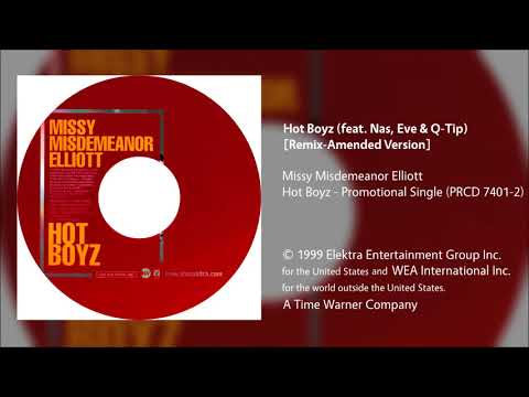 Missy Misdeameanor Elliott - Hot Boyz (feat. Nas, Eve & Q-Tip) [Remix-Amended Version]