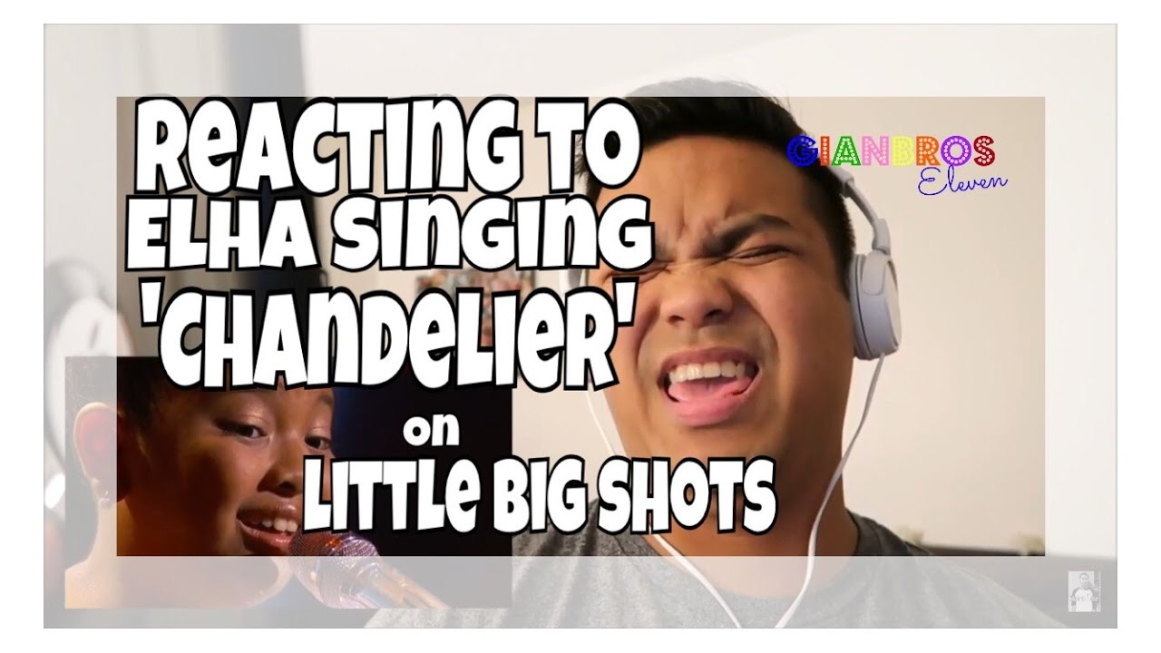 reacting to elha nympha singing to sia 39 s 39 chandelier 39 on. Black Bedroom Furniture Sets. Home Design Ideas