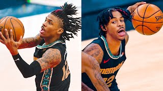 Ja Morant is a WIZARD with the Basketball! 2021 MOMENTS