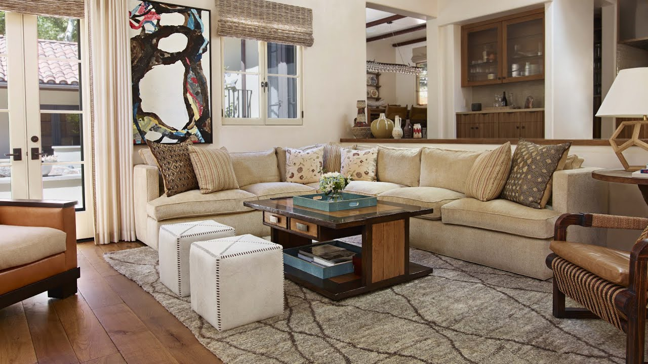 California Ranch Style Home Episode 1 Living Room Indoor Outdoor