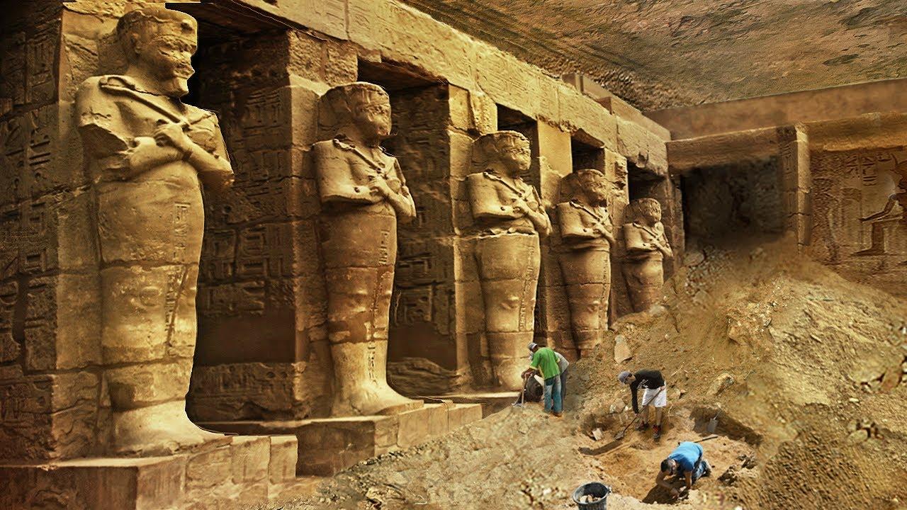 QUEDARON DESCONCERTADOS Tras El Hallazgo De Esta Antigua  Metrópolis De 3 400 Años En El Antiguo Egi