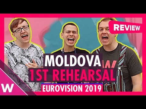 "Moldova First Rehearsal: Anna Odobescu ""Stay"" @ Eurovision 2019 (Reaction) 