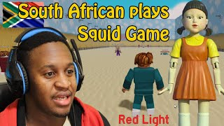 South African plays Squid Game online video games