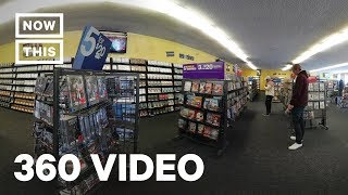 A Look Inside The Last Blockbuster in the World | 360 VIDEO | NowThis