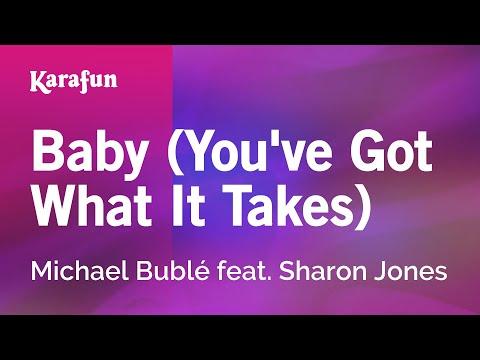 Karaoke Baby (You've Got What It Takes) - Michael Bublé *