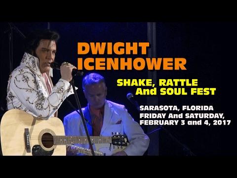 Dwight Icenhower Performs as Elvis - Sarasota 2017