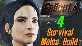 Fallout 4 4 - Кюри - робот которая жаждет свободы survival melee webcam