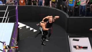 WWE 2K15 PC Low Settings | Sting vs Undertaker