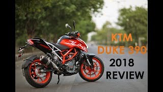 KTM DUKE 390 2018 REVIEW