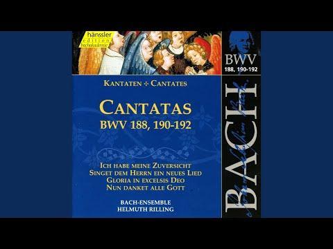 Singet dem Herrn ein neues Lied, BWV 190: Duet: Jesus soll mein alles sein (Tenor, Bass)