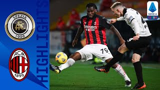Spezia 2-0 Milan | Lo Spezia batte 2-0 il Milan capolista! | Serie A TIM