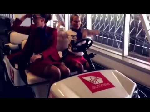 "Virgin Australia Guest Services present - Taylor Swift ""Shake it off"""